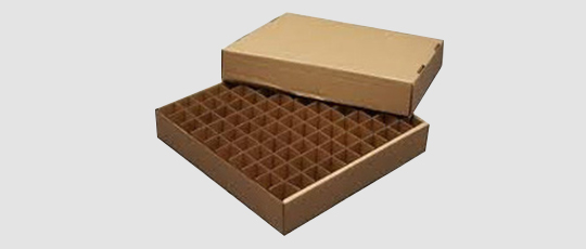 Partition Corrugated Box